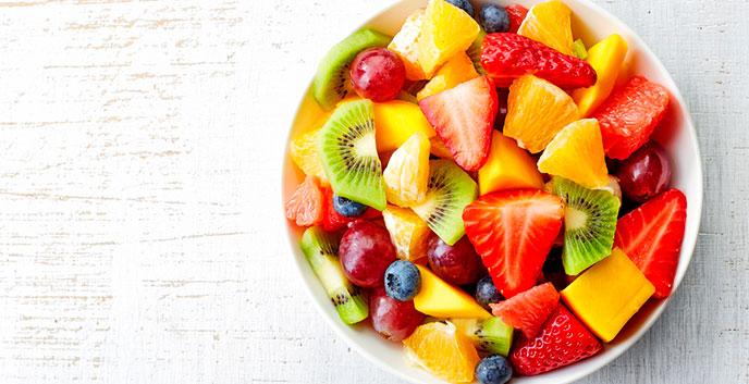 Comer fruta antes o después