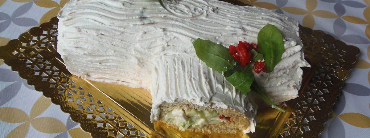 Tronco salado de navidad